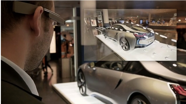 Vectorform BMW googleglass